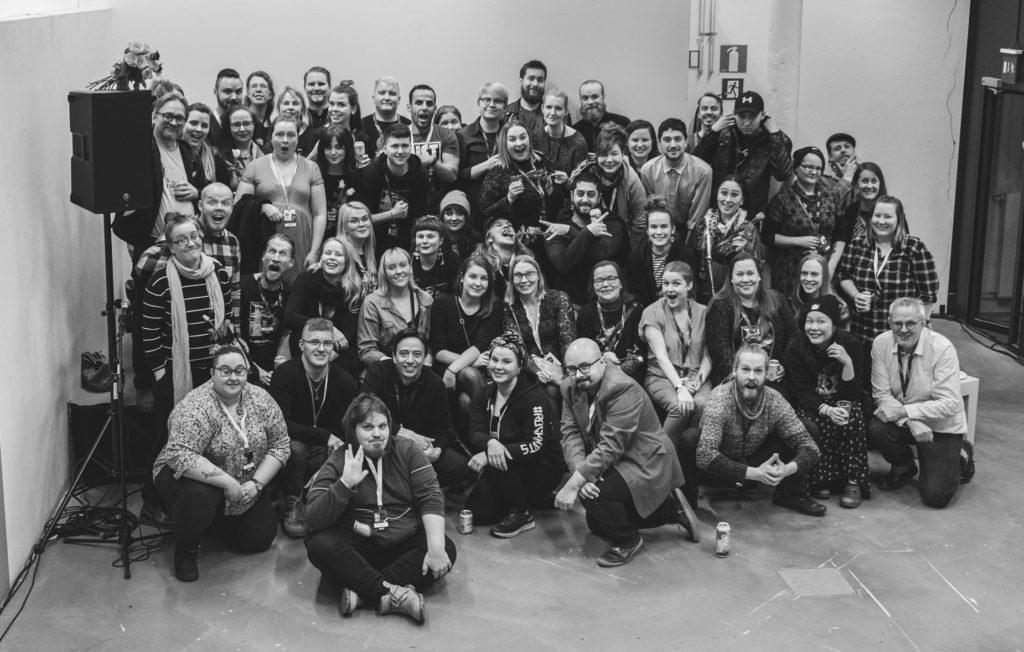 Tampere film festival staff