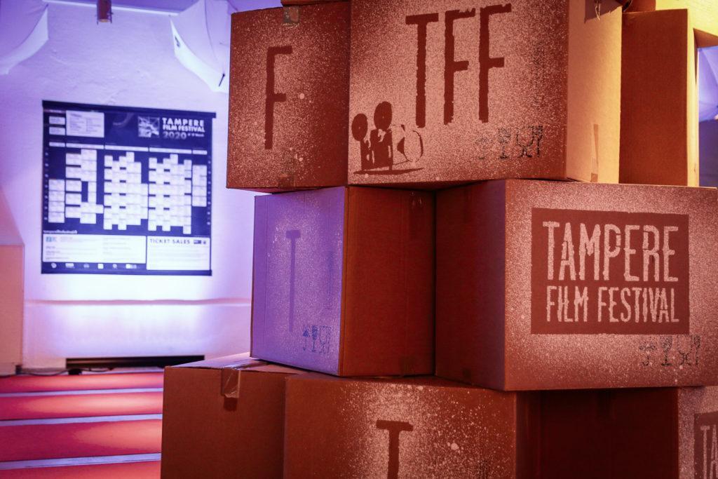 Laatikoita Tampere film festivaaleilla / Boxes in Tampere film festival