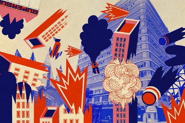 Kaaos kaupungissa / A chaos in city