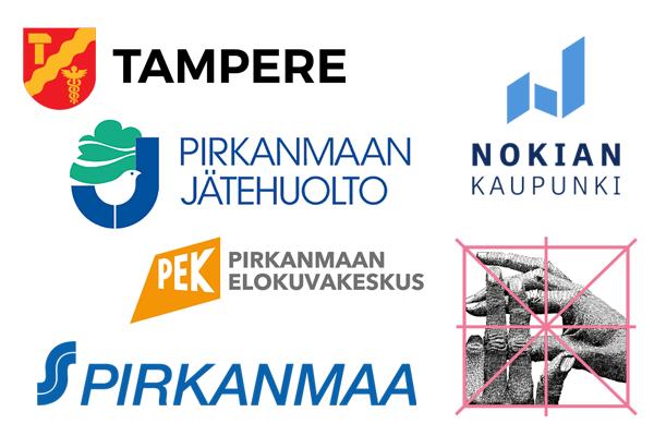 Tampereen kaupunki, Nokian kaupunki, Pirkanmaan jätehuolto, Pirkanmaan osuuskauppa, Tampereen elokuvajuhlat