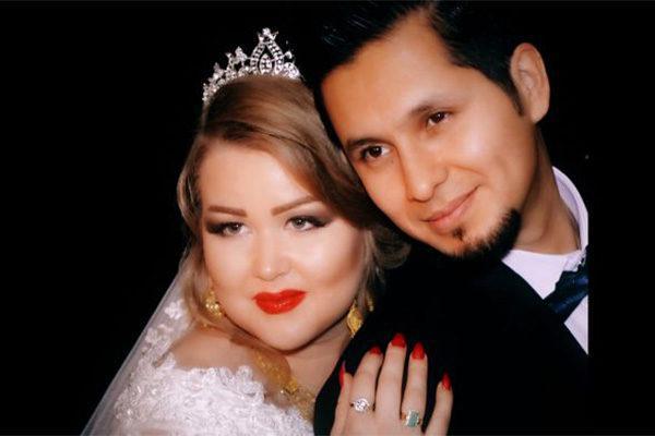 Morsian ja sulhanen / A bride and a groom